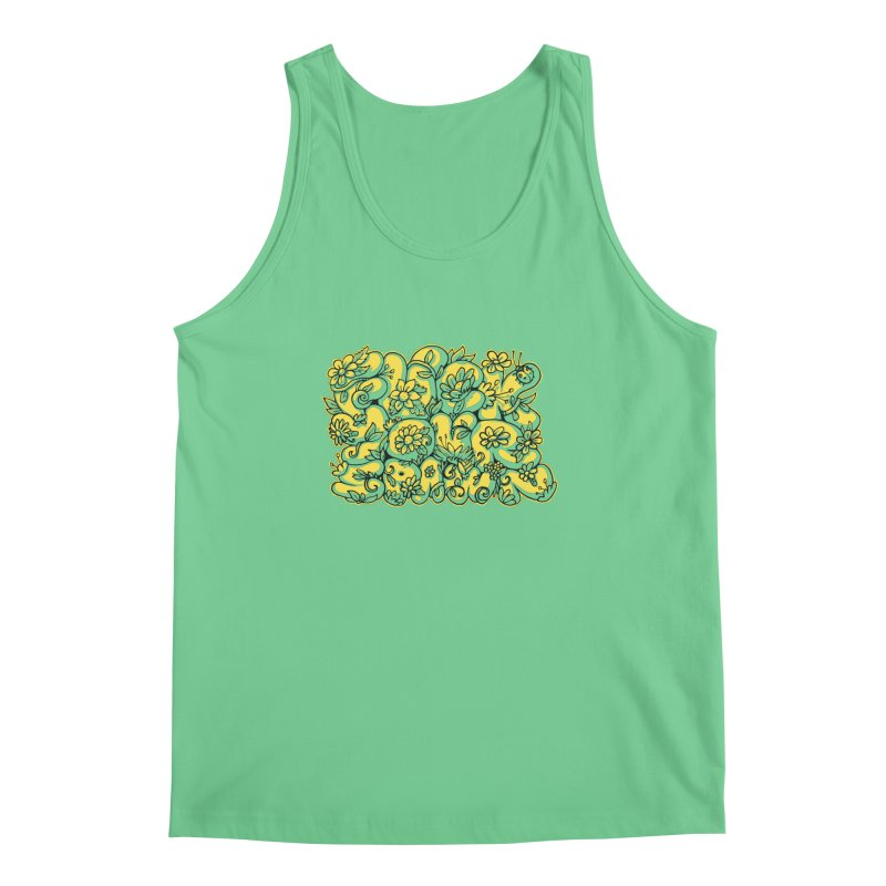 Sweet Sentiment Men's Tank by AnimalBro's Artist Shop