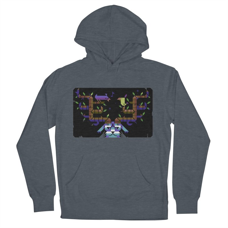 Bird Song Men's French Terry Pullover Hoody by AnimalBro's Artist Shop