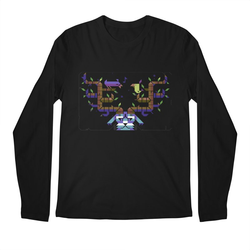 Bird Song Men's Regular Longsleeve T-Shirt by AnimalBro's Artist Shop