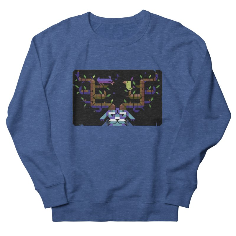 Bird Song Men's French Terry Sweatshirt by AnimalBro's Artist Shop