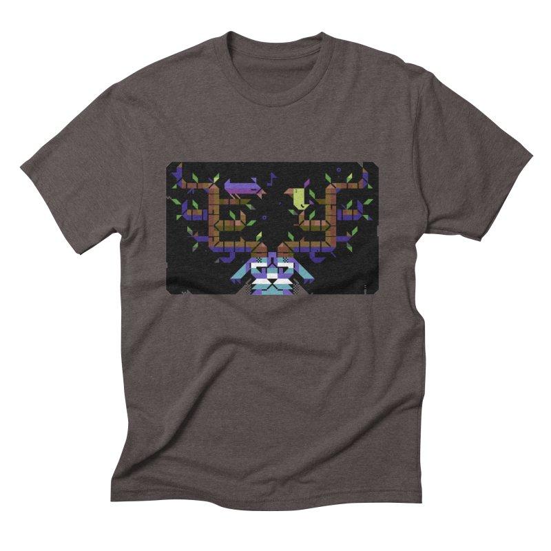 Bird Song Men's Triblend T-Shirt by AnimalBro's Artist Shop