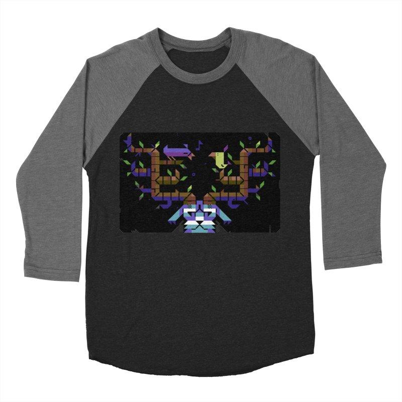 Bird Song Men's Baseball Triblend T-Shirt by AnimalBro's Artist Shop