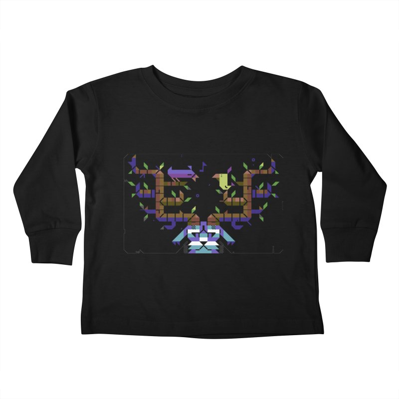 Bird Song Kids Toddler Longsleeve T-Shirt by AnimalBro's Artist Shop