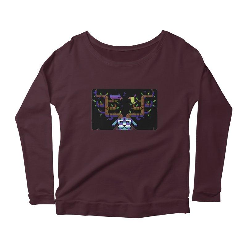 Bird Song Women's Scoop Neck Longsleeve T-Shirt by AnimalBro's Artist Shop