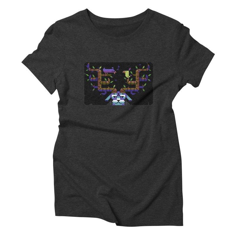 Bird Song Women's Triblend T-Shirt by AnimalBro's Artist Shop