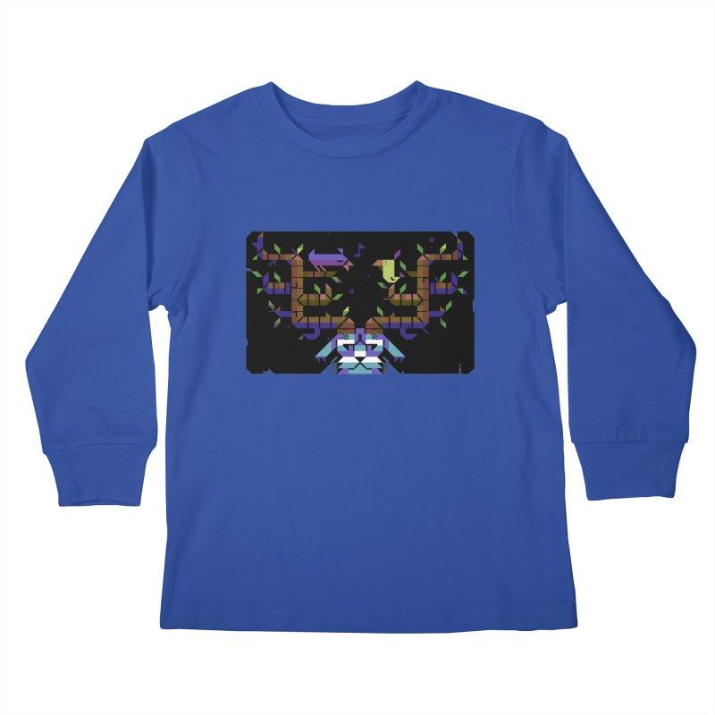 Bird Song Kids Longsleeve T-Shirt by AnimalBro's Artist Shop