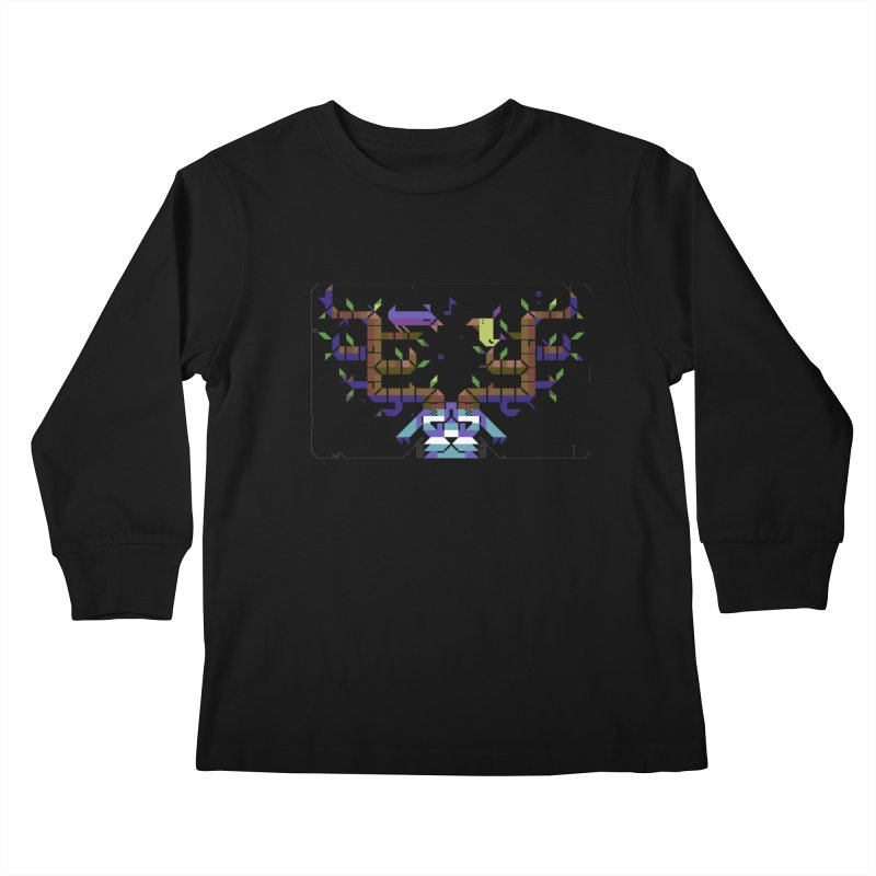 Bird Song Kids Longsleeve T-Shirt by AnimalBro's Artist Shop