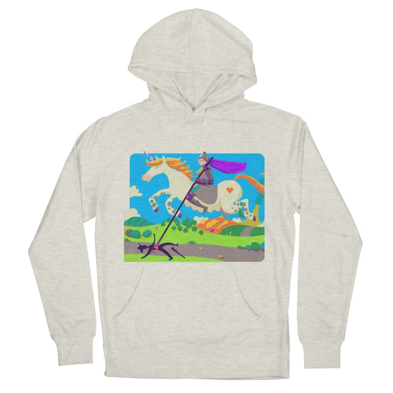 Hunters Will Be Hunted Women's French Terry Pullover Hoody by AnimalBro's Artist Shop