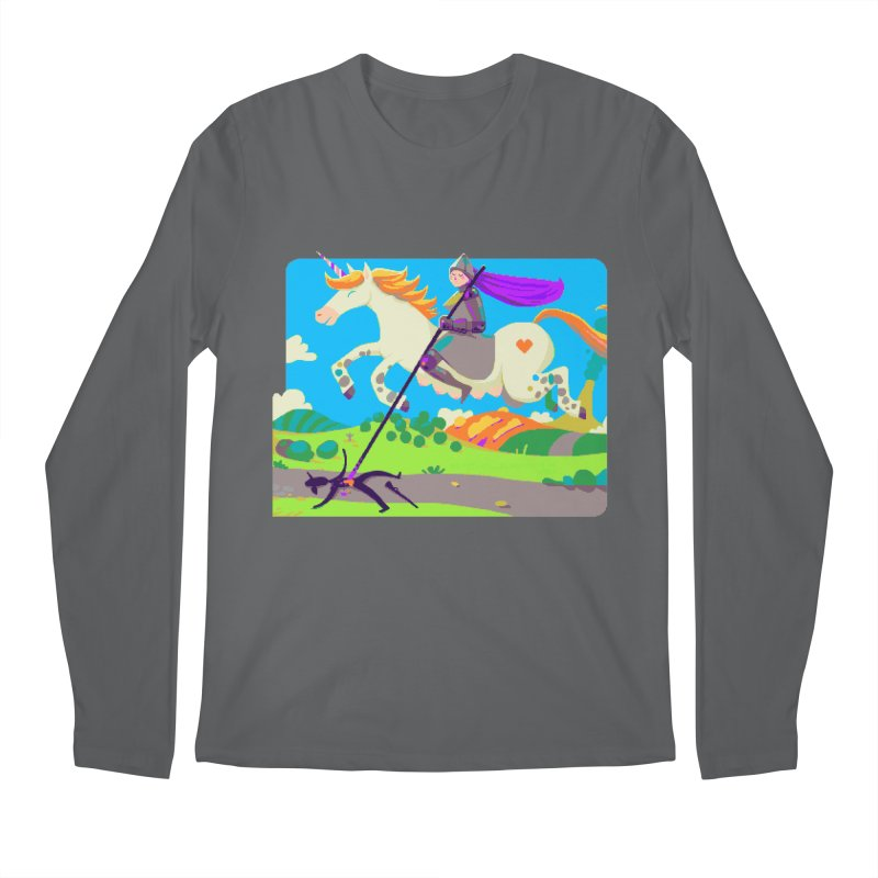 Hunters Will Be Hunted Men's Longsleeve T-Shirt by AnimalBro's Artist Shop