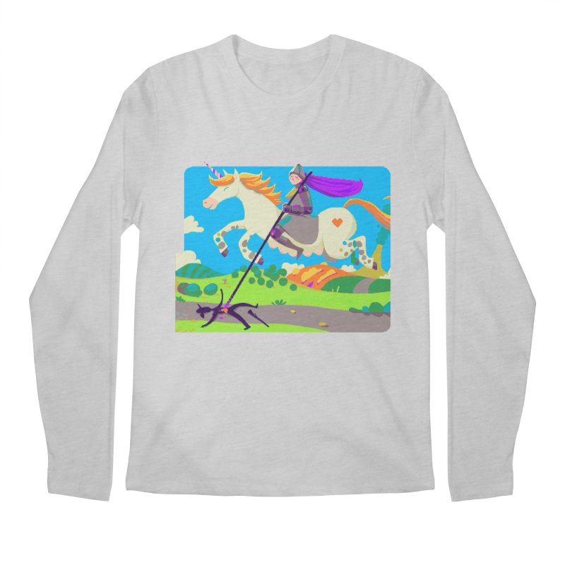 Hunters Will Be Hunted Men's Regular Longsleeve T-Shirt by AnimalBro's Artist Shop