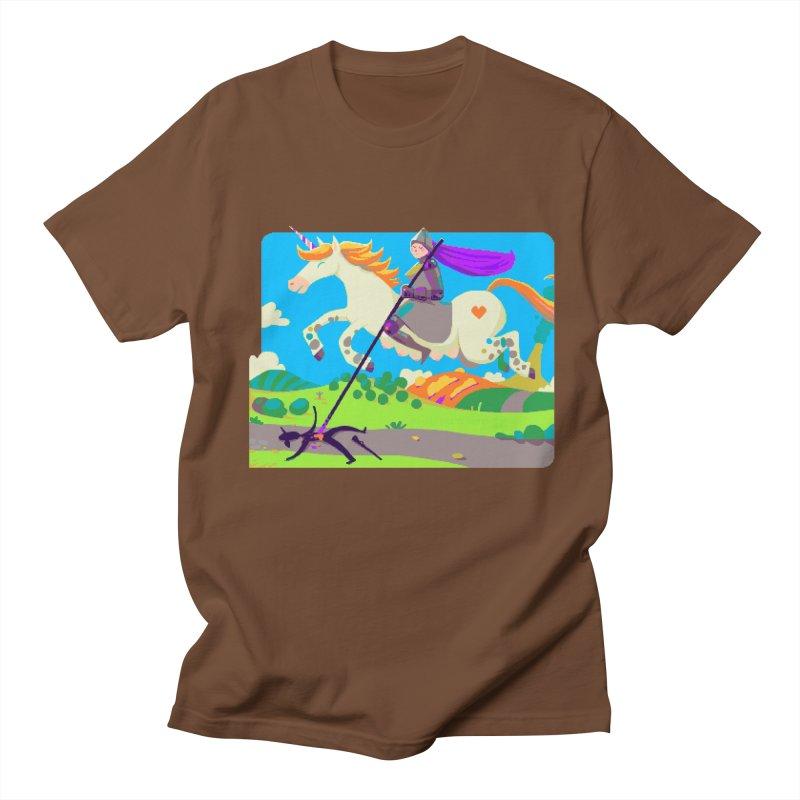 Hunters Will Be Hunted Men's Regular T-Shirt by AnimalBro's Artist Shop