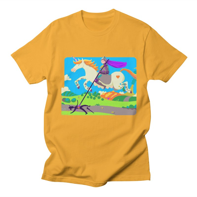 Hunters Will Be Hunted Women's Regular Unisex T-Shirt by AnimalBro's Artist Shop