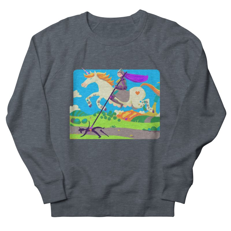 Hunters Will Be Hunted Women's French Terry Sweatshirt by AnimalBro's Artist Shop