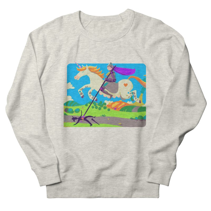 Hunters Will Be Hunted Men's French Terry Sweatshirt by AnimalBro's Artist Shop