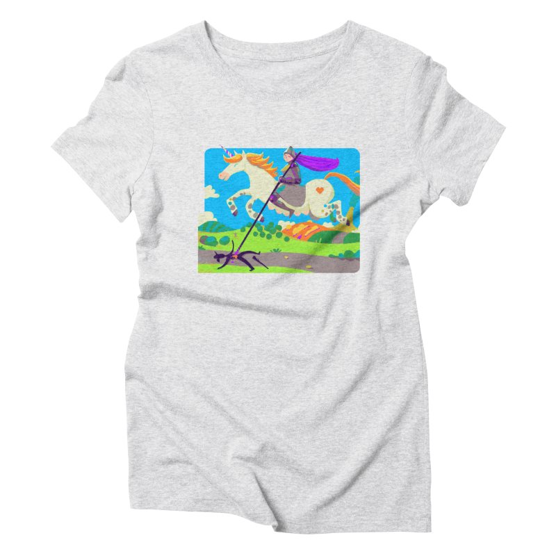 Hunters Will Be Hunted Women's T-Shirt by AnimalBro's Artist Shop