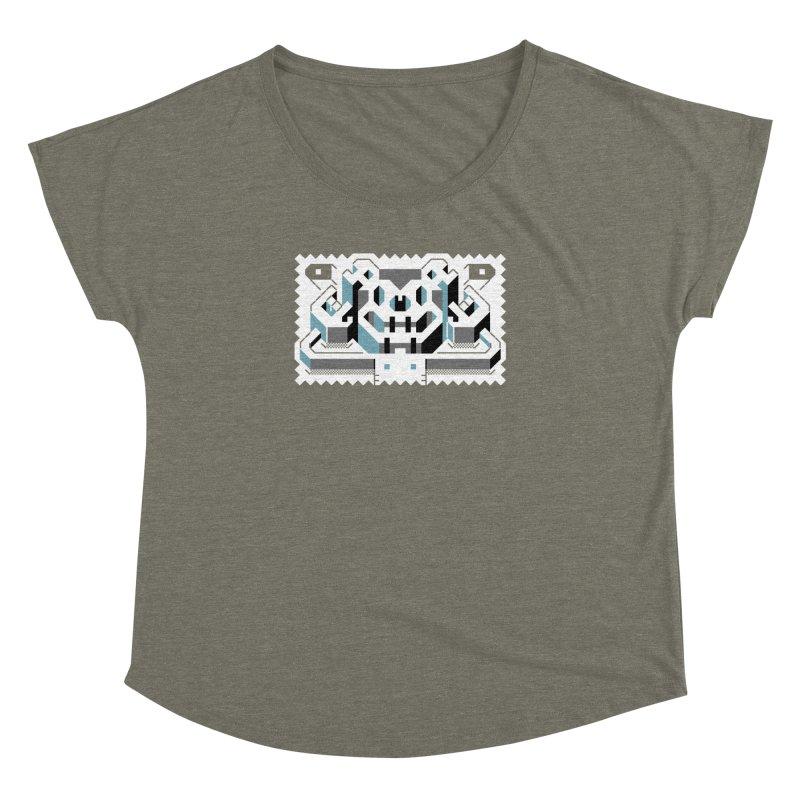 Lickey Louse Women's Dolman Scoop Neck by AnimalBro's Artist Shop