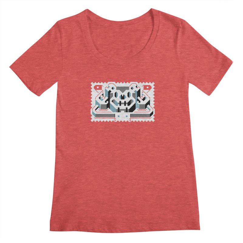 Lickey Louse Women's Scoopneck by AnimalBro's Artist Shop