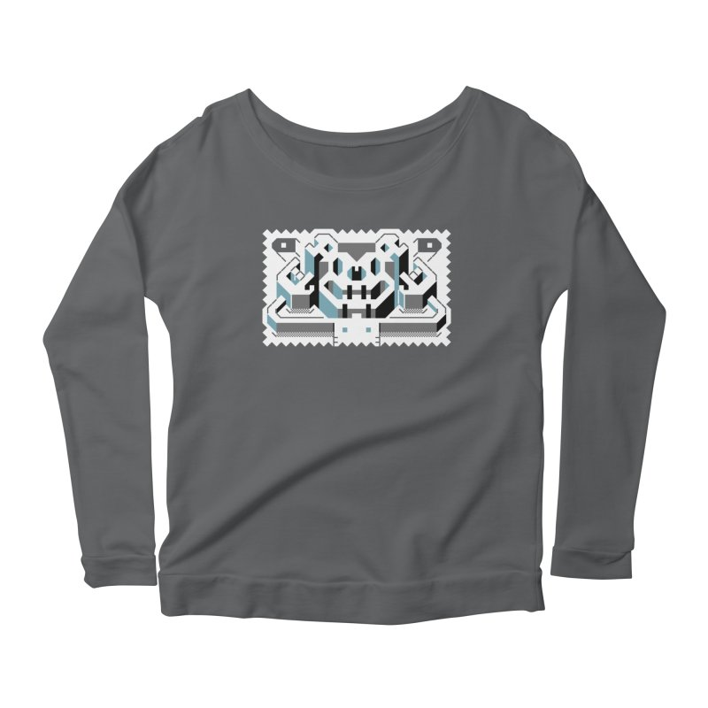 Lickey Louse Women's Scoop Neck Longsleeve T-Shirt by AnimalBro's Artist Shop