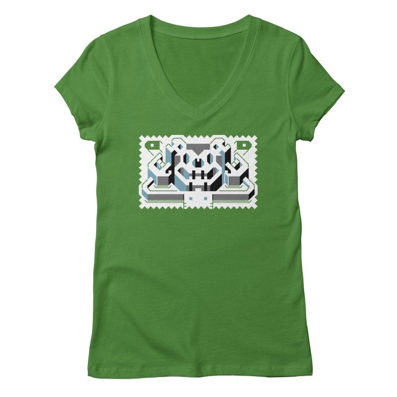Lickey Louse Women's Regular V-Neck by AnimalBro's Artist Shop
