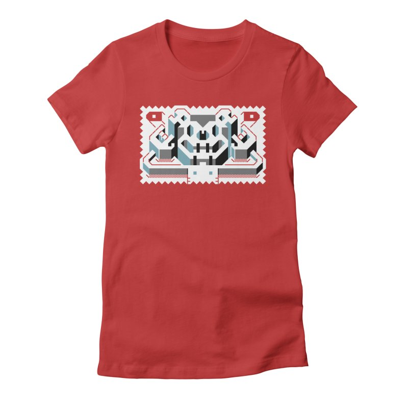 Lickey Louse Women's Fitted T-Shirt by AnimalBro's Artist Shop