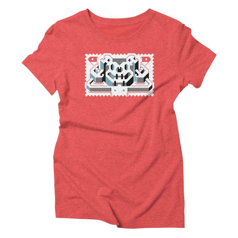 Lickey Louse Women's Triblend T-Shirt by AnimalBro's Artist Shop