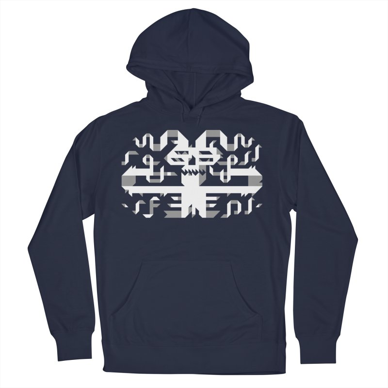 Papercut Men's French Terry Pullover Hoody by AnimalBro's Artist Shop