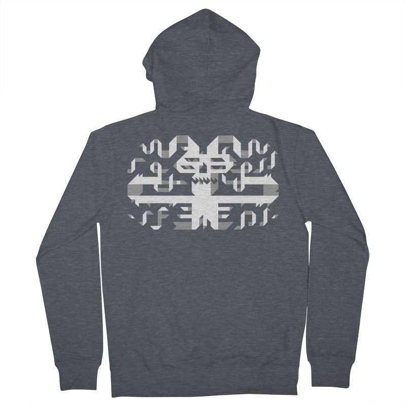 Papercut Women's French Terry Zip-Up Hoody by AnimalBro's Artist Shop