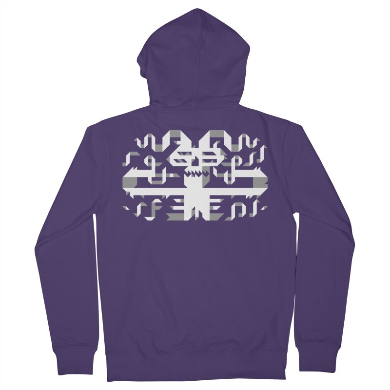Papercut Women's Zip-Up Hoody by AnimalBro's Artist Shop