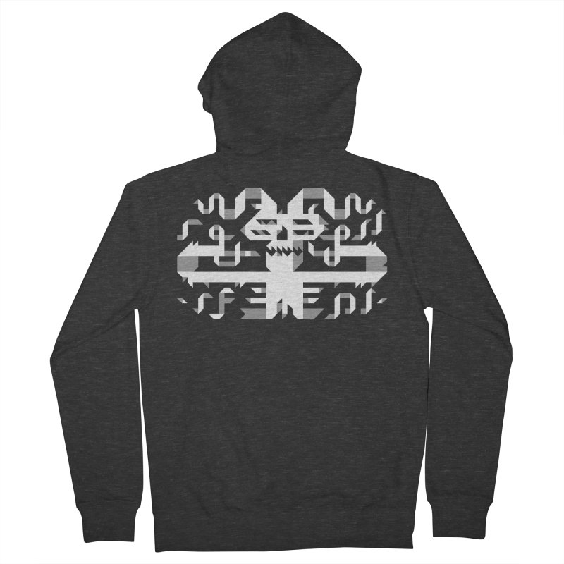 Papercut Men's French Terry Zip-Up Hoody by AnimalBro's Artist Shop