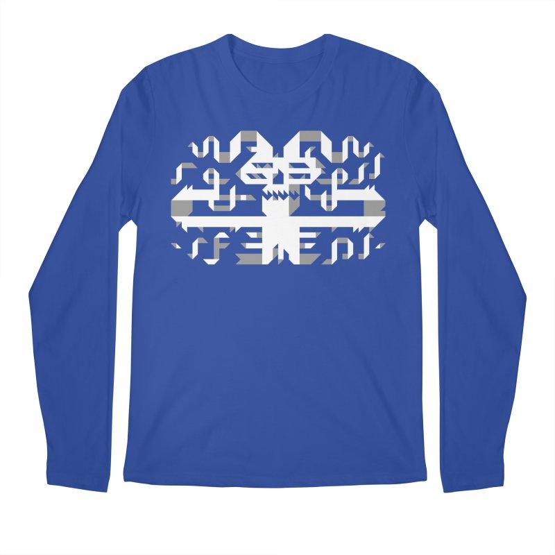 Papercut Men's Regular Longsleeve T-Shirt by AnimalBro's Artist Shop