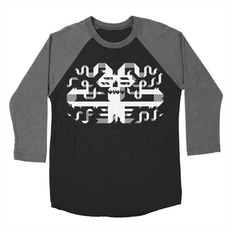 Papercut Men's Baseball Triblend T-Shirt by AnimalBro's Artist Shop