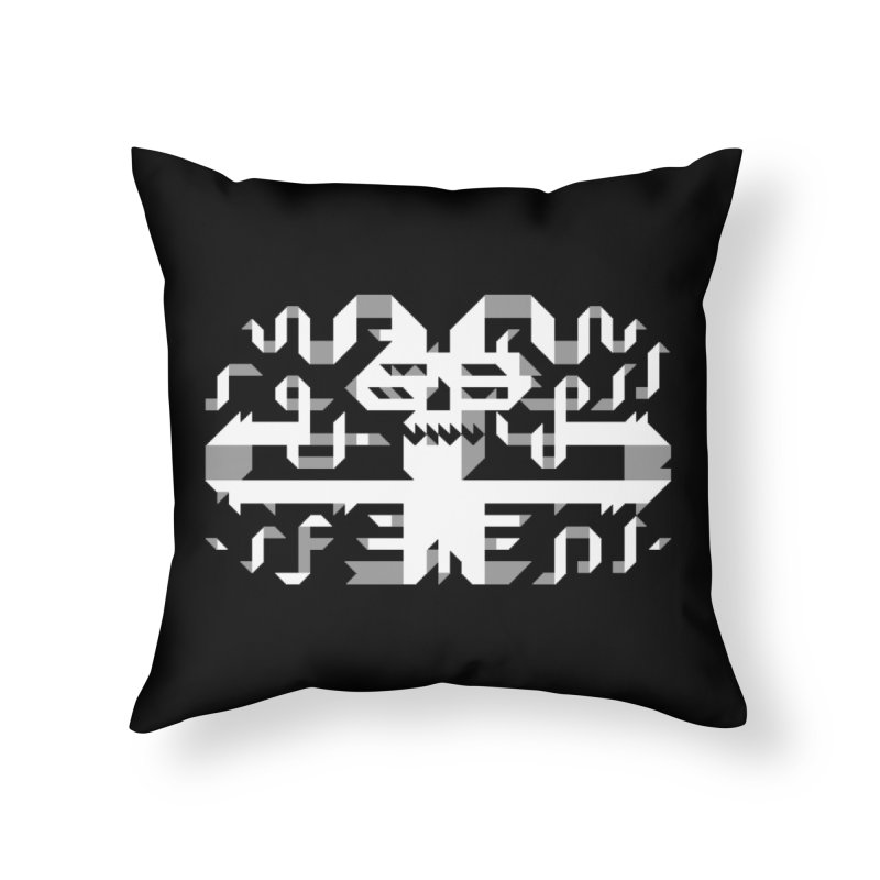 Papercut in Throw Pillow by AnimalBro's Artist Shop
