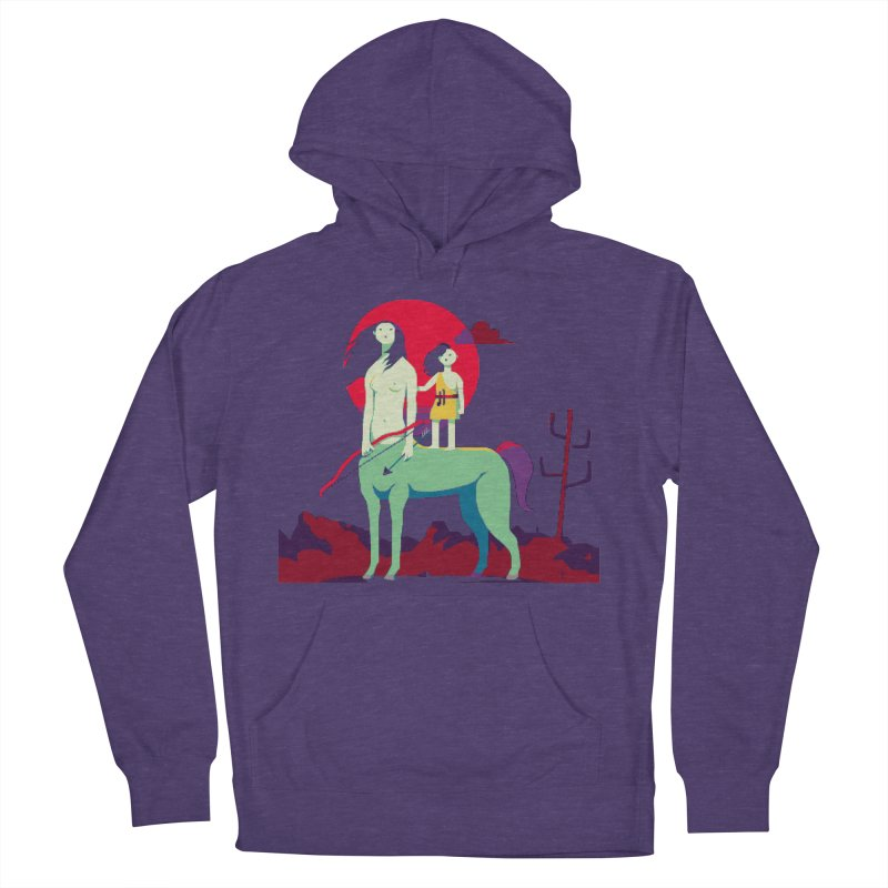 Amazonomachy Men's French Terry Pullover Hoody by AnimalBro's Artist Shop