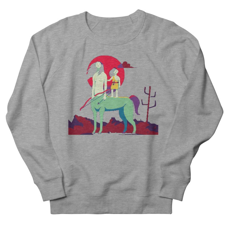 Amazonomachy Women's French Terry Sweatshirt by AnimalBro's Artist Shop
