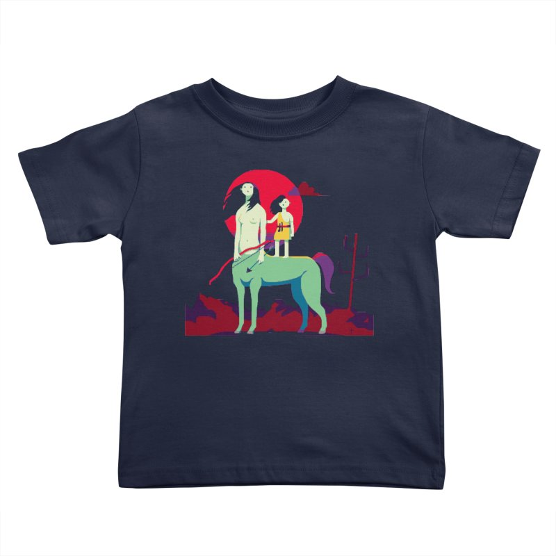 Amazonomachy Kids Toddler T-Shirt by AnimalBro's Artist Shop