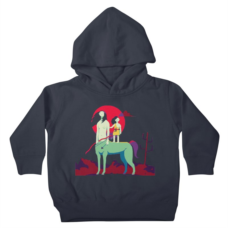 Amazonomachy Kids Toddler Pullover Hoody by AnimalBro's Artist Shop