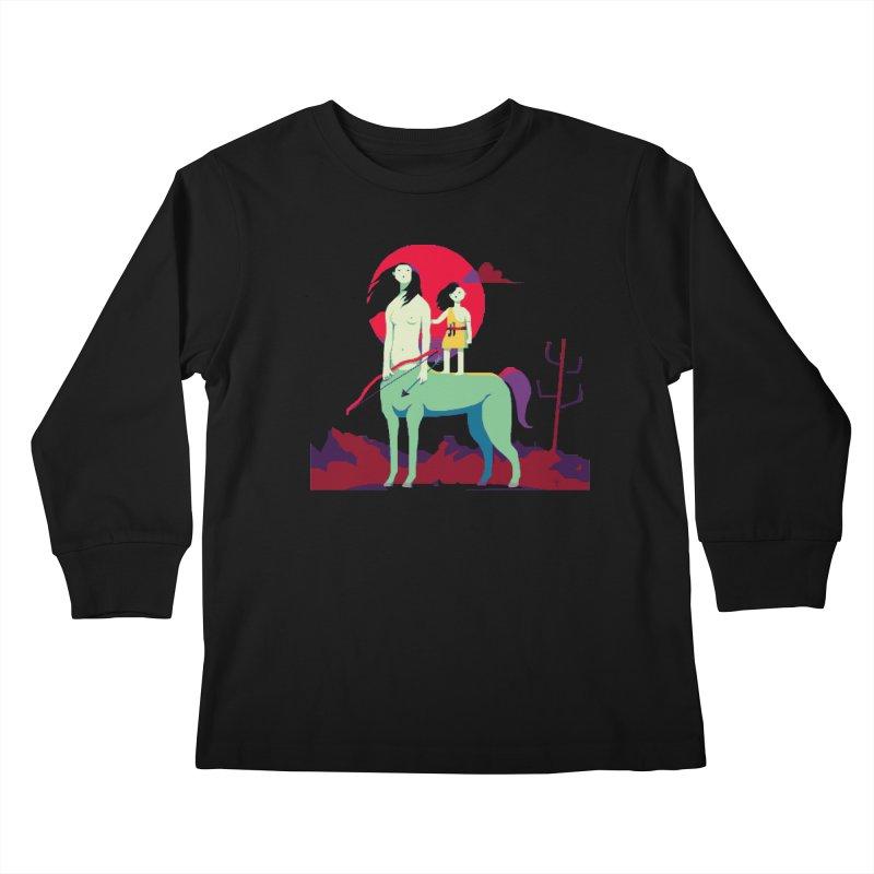 Amazonomachy Kids Longsleeve T-Shirt by AnimalBro's Artist Shop