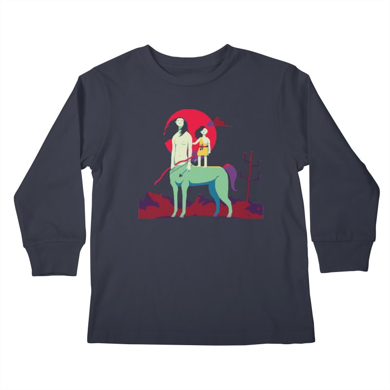 Amazonomachy Kids Longsleeve T-Shirt by AnimalBro's Artist Shop