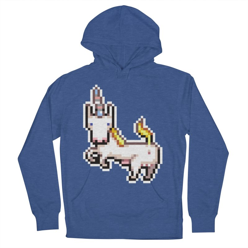 Proud Pony Women's French Terry Pullover Hoody by AnimalBro's Artist Shop
