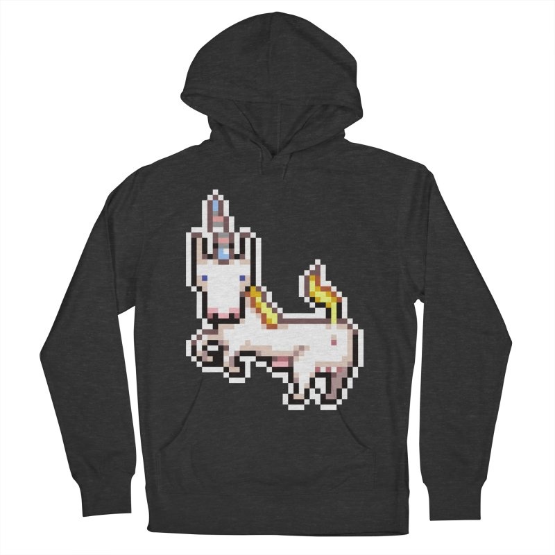Proud Pony Men's French Terry Pullover Hoody by AnimalBro's Artist Shop