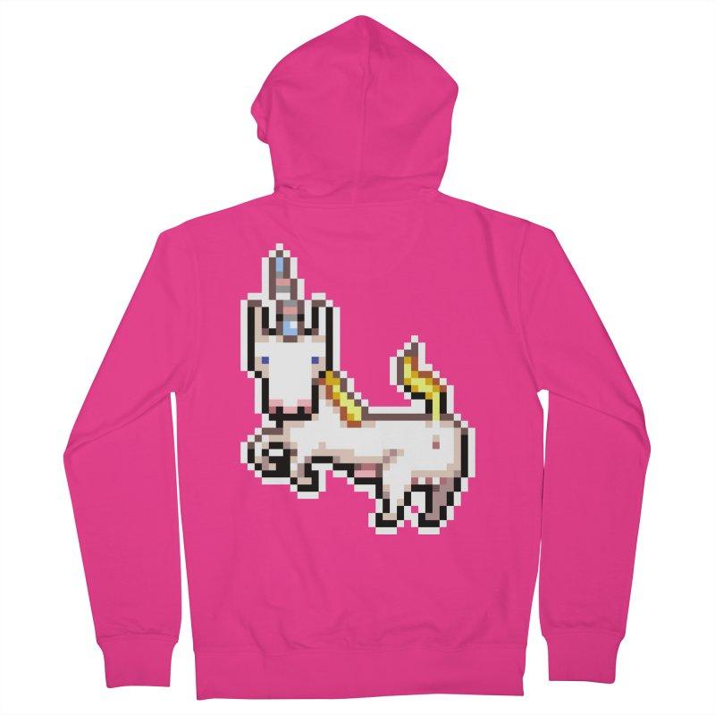 Proud Pony Men's Zip-Up Hoody by AnimalBro's Artist Shop