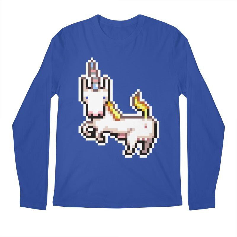 Proud Pony Men's Regular Longsleeve T-Shirt by AnimalBro's Artist Shop