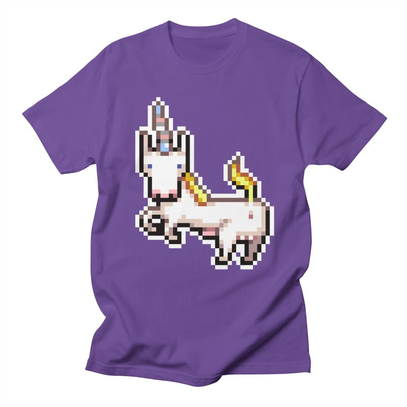 Proud Pony Men's T-shirt by AnimalBro's Artist Shop