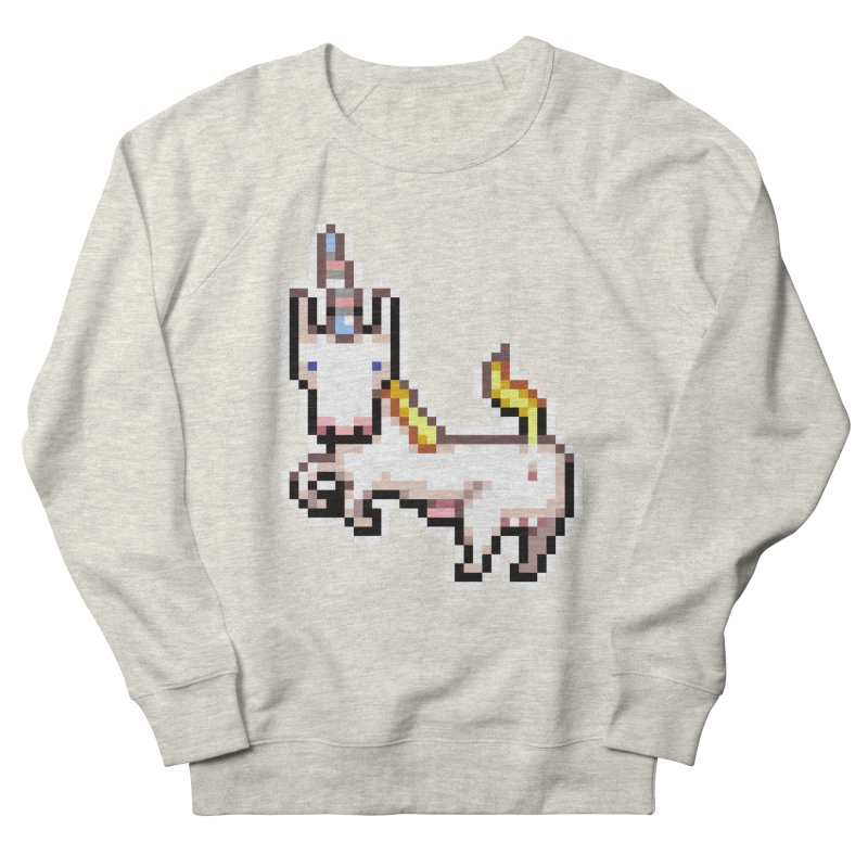 Proud Pony Women's French Terry Sweatshirt by AnimalBro's Artist Shop