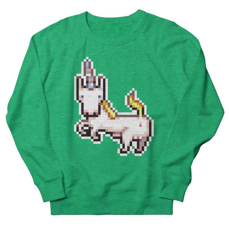 Proud Pony Men's French Terry Sweatshirt by AnimalBro's Artist Shop