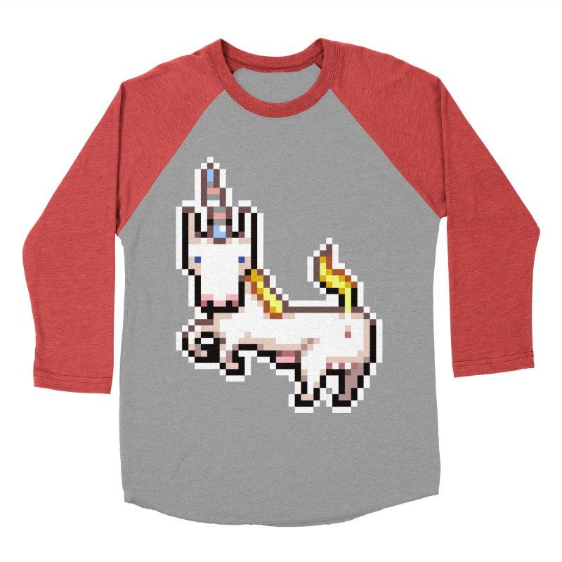 Proud Pony Women's Baseball Triblend Longsleeve T-Shirt by AnimalBro's Artist Shop
