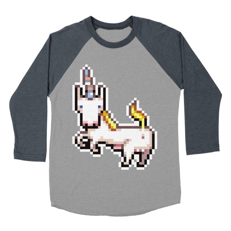 Proud Pony Women's Baseball Triblend T-Shirt by AnimalBro's Artist Shop