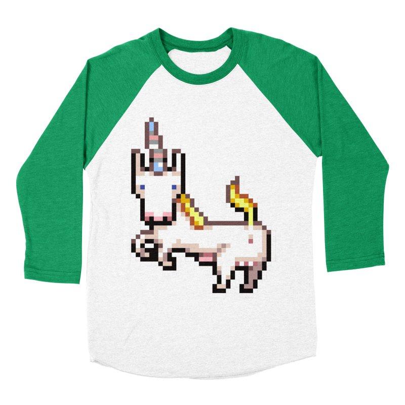 Proud Pony Men's Baseball Triblend T-Shirt by AnimalBro's Artist Shop