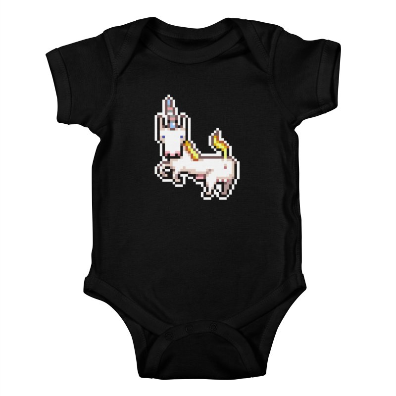 Proud Pony Kids Baby Bodysuit by AnimalBro's Artist Shop
