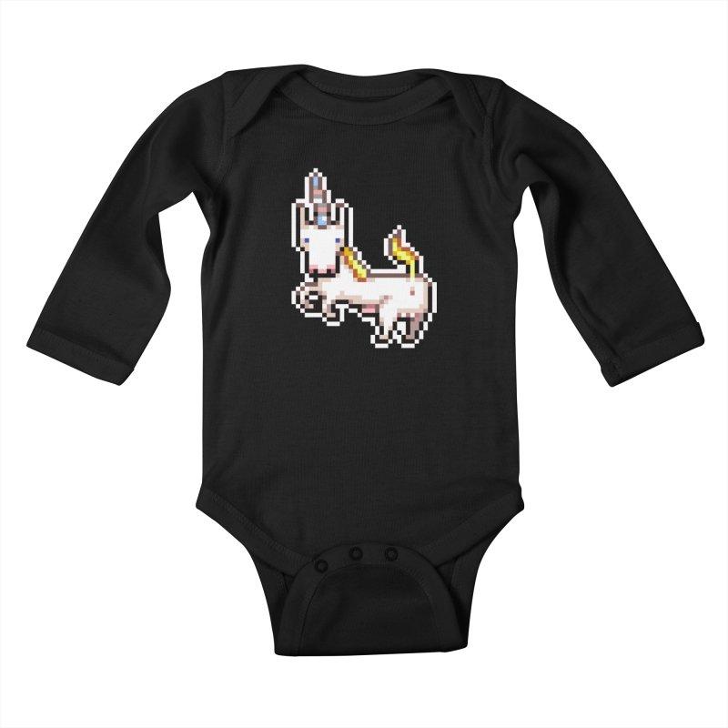 Proud Pony Kids Baby Longsleeve Bodysuit by AnimalBro's Artist Shop